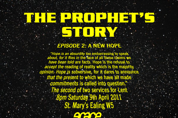 apr 11 the prophets story episode 2 flyer